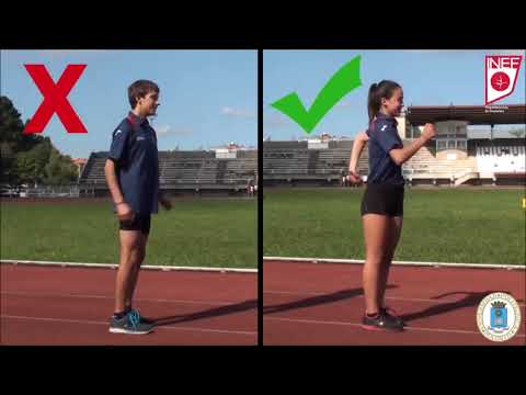 como agraciar el braceo linear unit atletismo