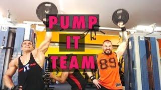 Pump It Team. Kaunas. Pečių Ir Rankų Treniruotė