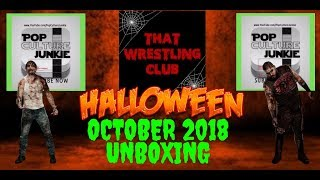 THAT WRESTLING CLUB Unboxing October 2018 Subscription Box Review