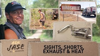 Ask Jase: Sights, Shorts, Exhaust & Heat ► All 4 Adventure TV