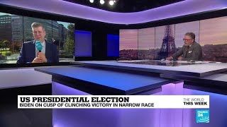US Presidential election: Biden on cusp of clinching victory in narrow race
