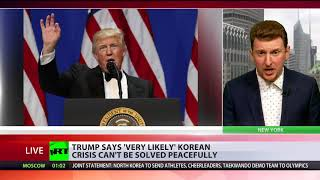 2018-01-18-01-48.Trump-says-very-likely-Korean-crisis-can-t-be-solved-peacefully