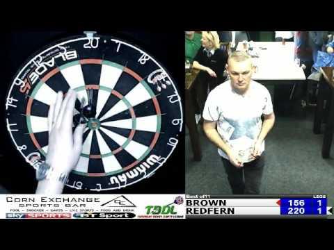 Corn Exchange Darts Series 2   Final   Daz Brown v Paul Redfern 2017 03 25