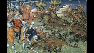 FLAT EARTH BRITISH. Medieval Strange Art & The Cryptids, Are They Myth Or Reality ?