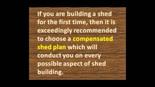 Wooden Shed Plans | Wooden Shed Plans Guide