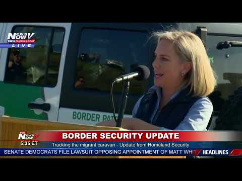BREAKING: Migrant Caravan Update As It Gets Closer To The United States