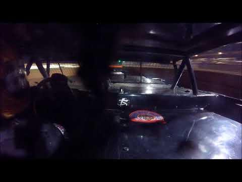 Brett McDonald RUSH Pro Stock Heat Race Lernerville Speedway 9/16/17 IN-CAR
