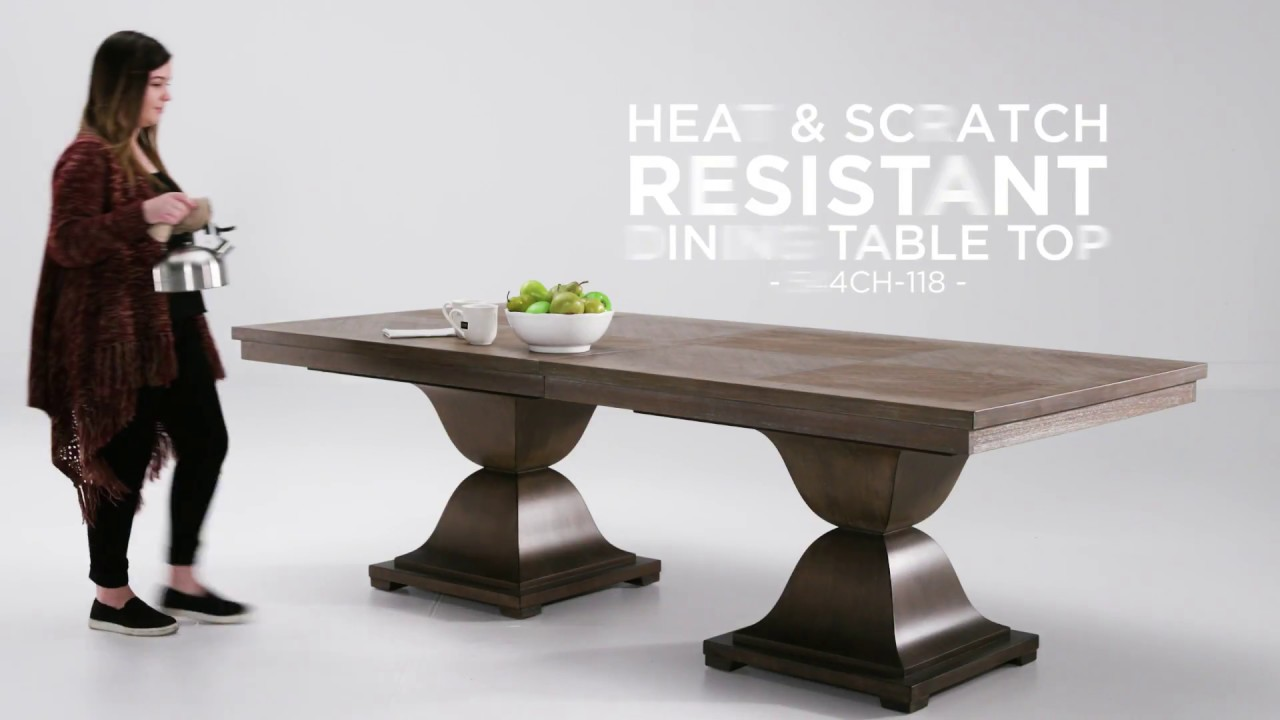Heat And Scratch Resistant Dining Tables By INSPIRE Q