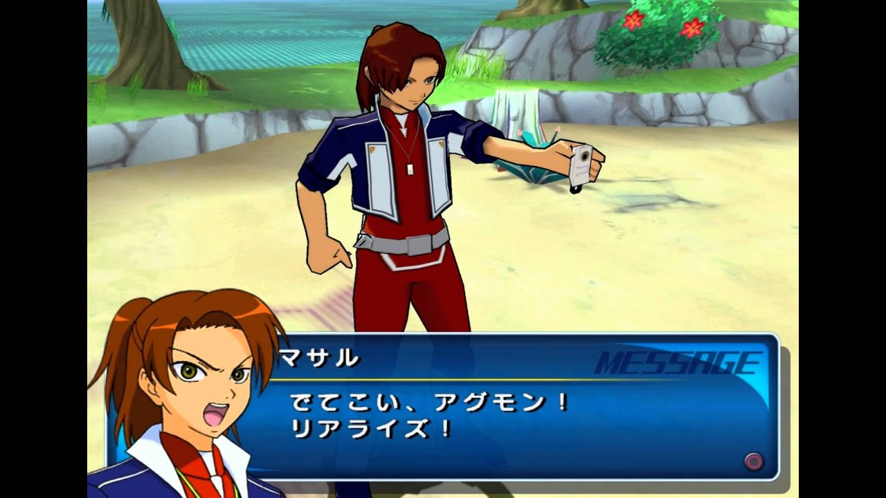 Digimon Savers Another Mission Gameplay {PS2} {HD 1080p}