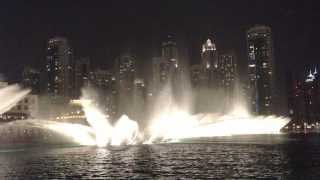 The Dubai Mall Fountain Show - Full Video [HD] - 2015