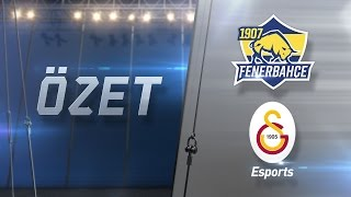 1907 Fenerbahçe Espor ( FB ) vs Galatasaray Esports ( GS ) 1. Maç Özeti | 2017 Kış Mevsimi 6. Hafta