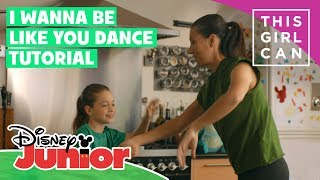 The Jungle Book | 'I Wanna Be Like You' Dance Tutorial 🌴 | Disney Junior UK x This Girl Can