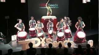 Yamato - the drummers of Japan [倭] at TEDxSeeds 2012