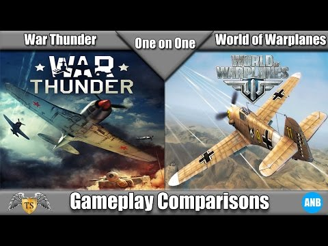 One on One - War Thunder vs World of Warplanes - YouTube