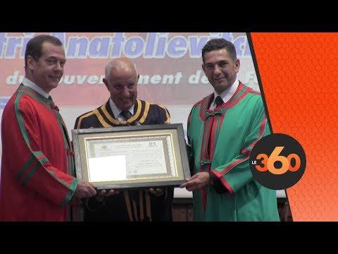 Le360.ma • Dmitri Medvedev reçoit à Rabat le Doctorat honoris causa