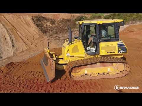 Komatsu D39PX Dozer - Charlie Nelson Trucking & Excavating, LLC - Brandeis Machinery & Supply