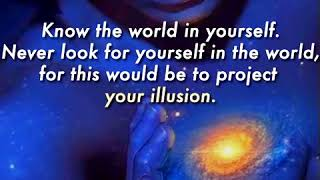 Know the world - Quote