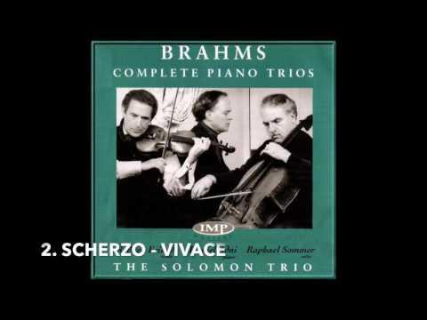 Brahms Piano Trio No.4 in A - Solomon Trio - Rodney Friend (Violin)
