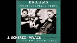Brahms Piano Trio No.4 in A - Solomon Trio - Rodney Friend (Violin)
