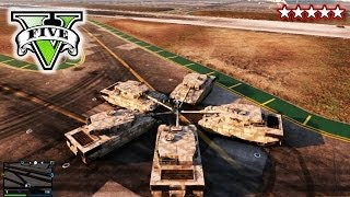 GTA TANKS & STUNTS | GTA 5 Online MultiPlayer Fun | Grand Theft Auto 5