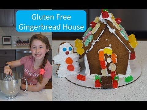Bethany Makes A Gluten Free Gingerbread House