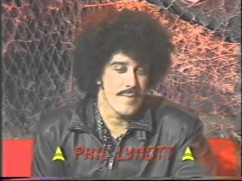 Phil Lynott (Thin Lizzy) approx. November 1985 Interview (30 of 100+ Interview Series)