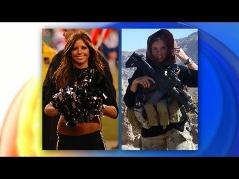 u s army offizier cheerleader