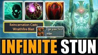 Stun-Stun-Stun! Immortal WK with Infinite Stun [Wraithfire Blast + Dragon Tail] Dota 2 Ability Draft
