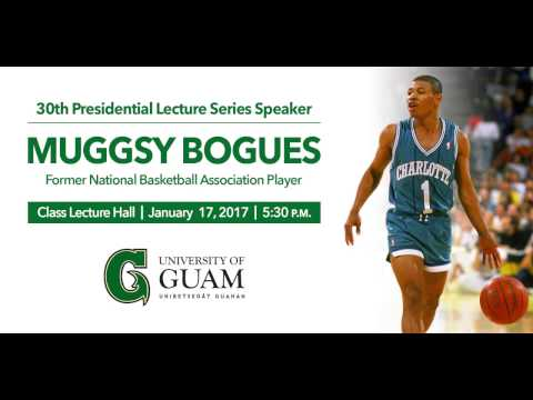Presidential Lecture Series - Muggsy Bogues