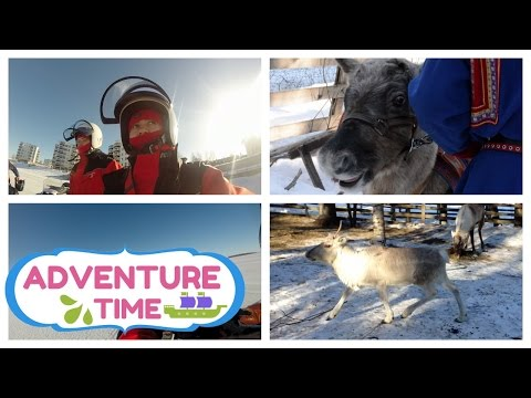 Kemi Snow Safari! This is FINLAND!