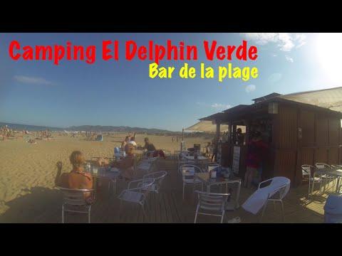 Camping El Delphin Verde Costa Brava - La Bar De La Plage Espagne - Camping Spain