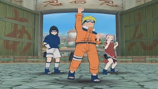 Naruto Clash Of Ninja 2 Walkthrough Part 1 Team 7 vs Kakashi 1080p 60 FPS