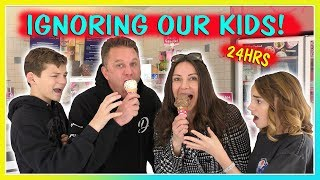 IGNORING OUR KIDS FOR 24 HOURS | PAYBACK! | We Are The Davises