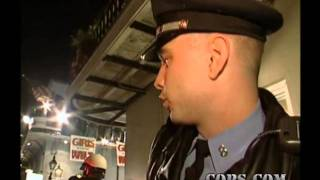COPS TV Show, Mardi Gras, New Orleans Police Department, NOLA