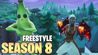 FORTNITE: Season 8 Freestyle RAP Song ( MUSIC VIDEO ) + Cinematics
