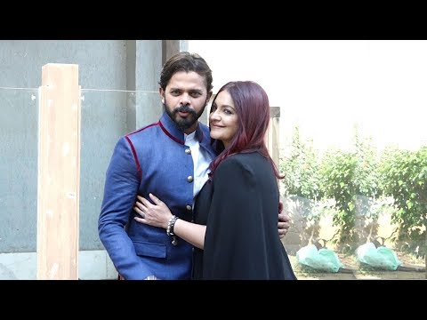 Sreesanth Promoting His FIRST Bollywood Movie Cabaret with Pooja Bhatt & Gulshan Grover