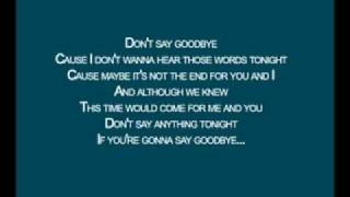 Skillet - Say Goodbye [Lyrics]