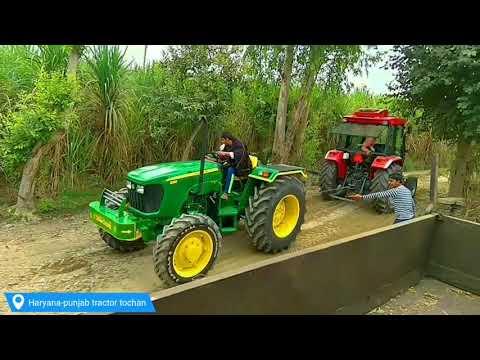 Arjun 605 Novo Vs John Deere 5310 4WD Tractor Tochan In Panipat