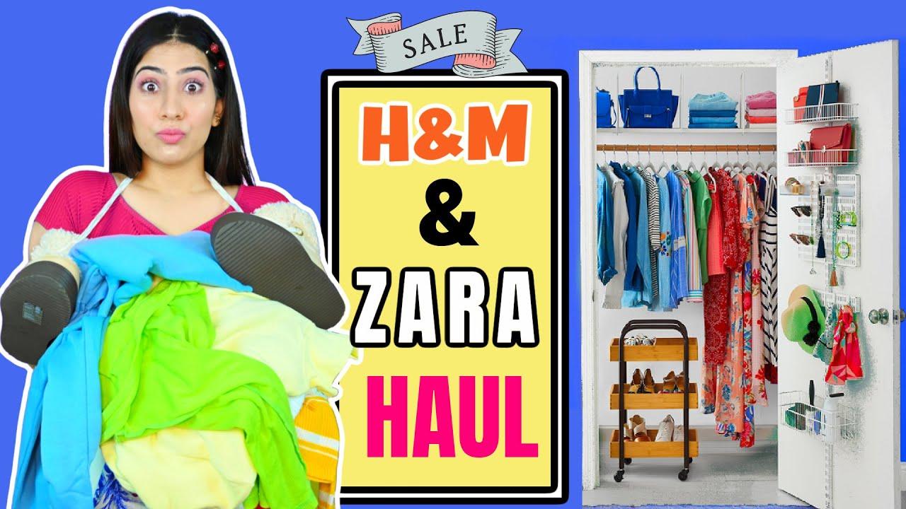 Zara H&M Haul 60-70% Off | Anishka Khantwaal |