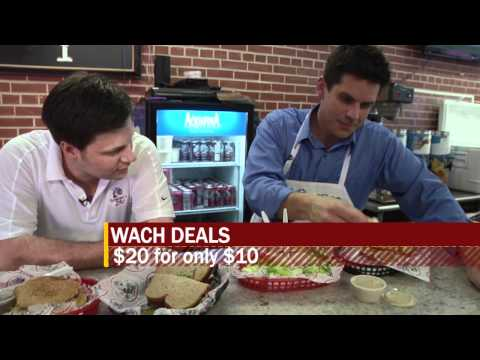 WACH Fox Deals: Groucho's Deli Forest Drive Part 2
