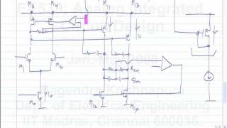 lecture 52 Fully differential two stage opamp, common mode feedback