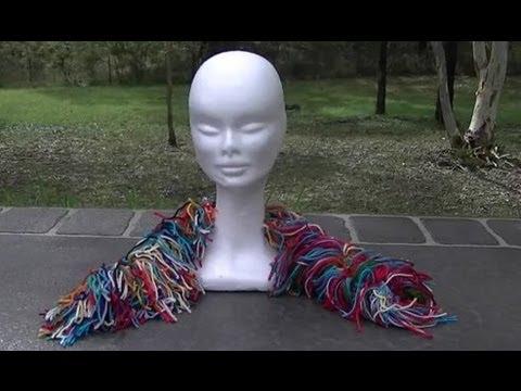 Scrap Crochet Scarf Tutorial