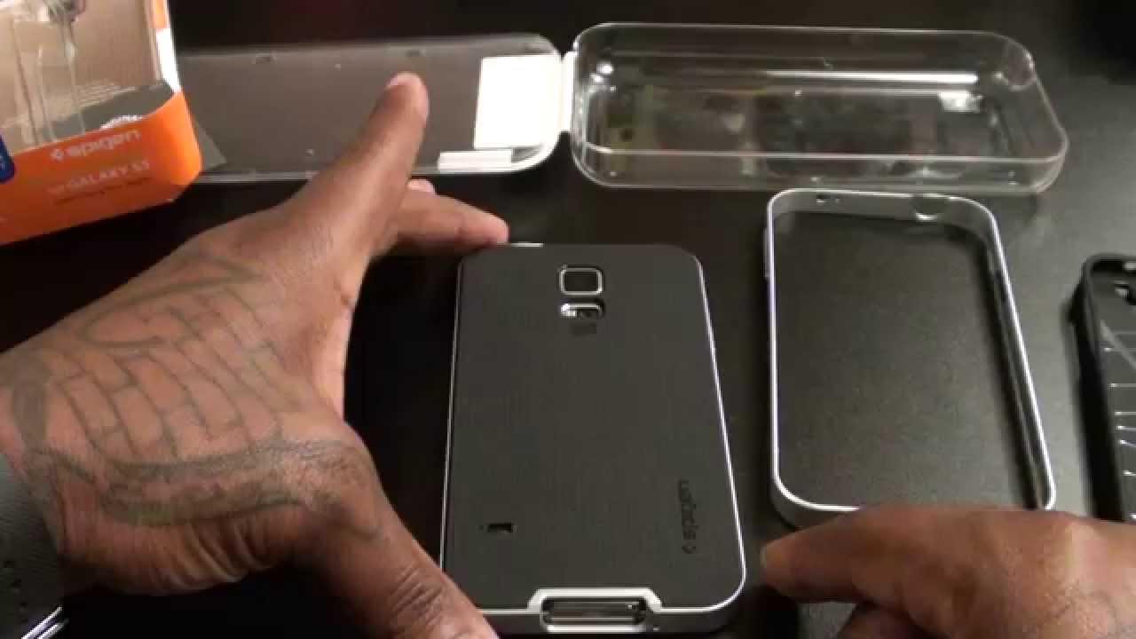 Samsung Galaxy S5 Spigen Neo Hybrid Case Youtube A5 2016 Tough Armor Back