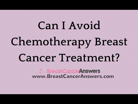 Can I Avoid Chemotherapy Breast Cancer Treatment?