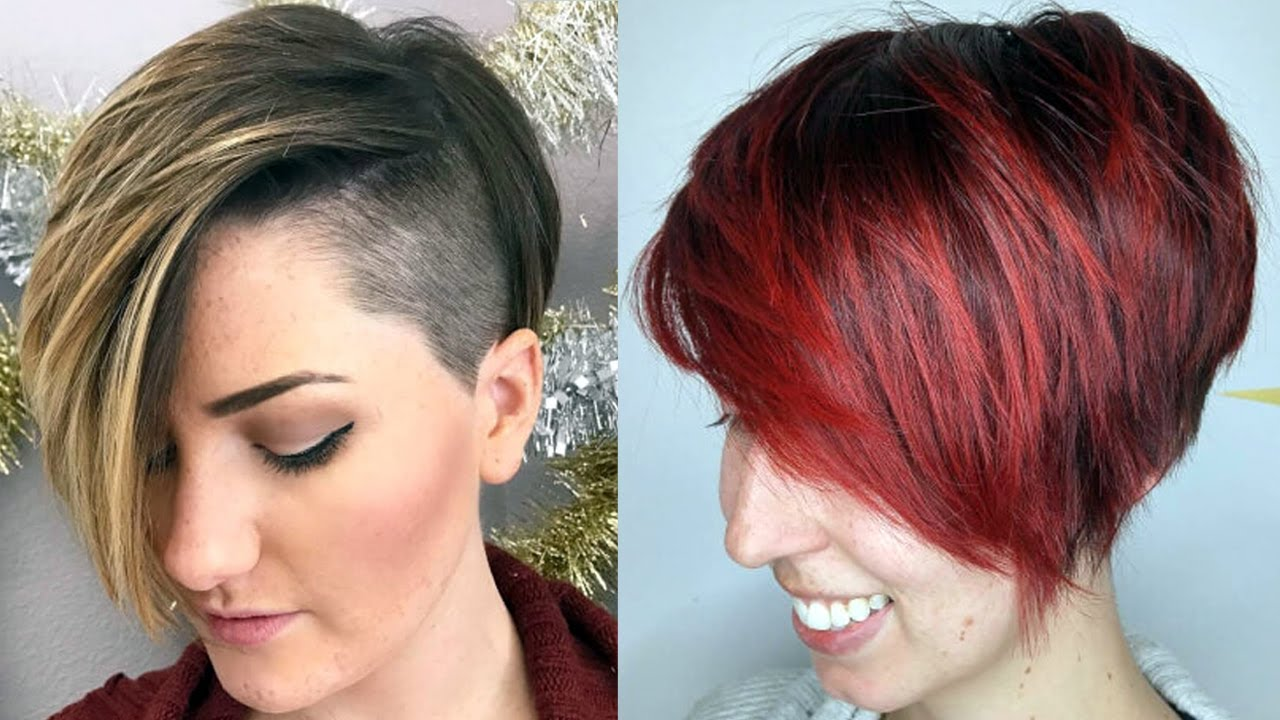 short haircuts for 2018 women - new short haircuts 2018 - youtube