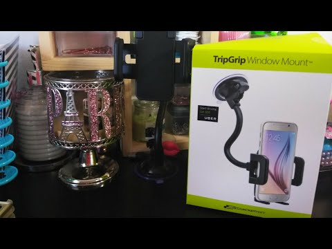 Bracketron TripGrip Window Mount Unboxing