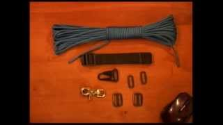 the paracord weaver how to single point tactical sling overview part 1