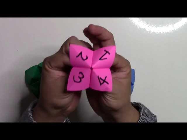 簡単 折り紙:折り紙 パクパク 遊び方-youtube.com