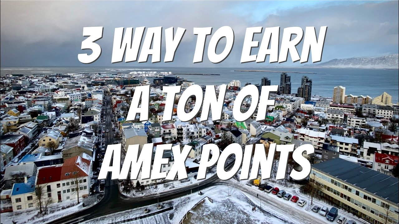 Download 3 Ways to earn a ton of Amex Points