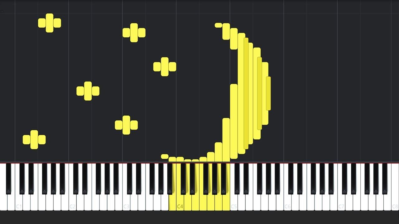 Clair de Lune - Claude Debussy [Piano Tutorial] (Synthesia) // Jonathan  Morris